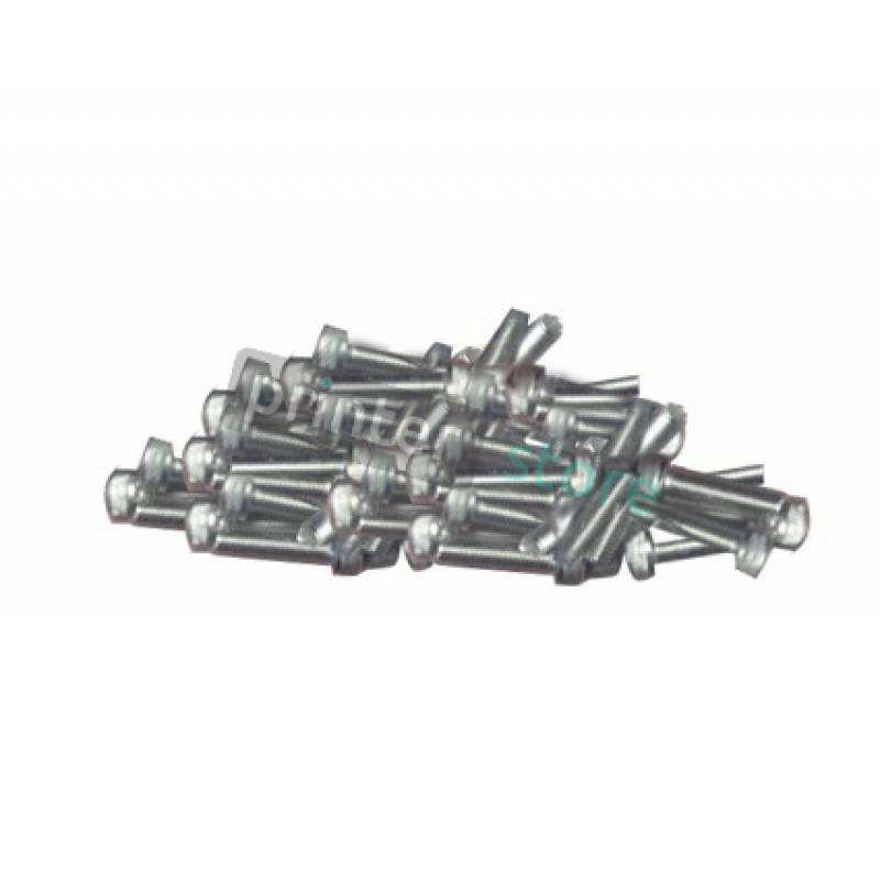 Набор болтов для Roland Screw Set Cap M3*12 NI (50 pcs) - 31049171AS